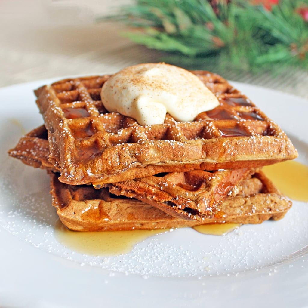 gingerbread waffles copy