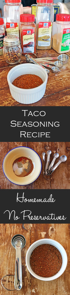 Taco Seasoning Pinterest