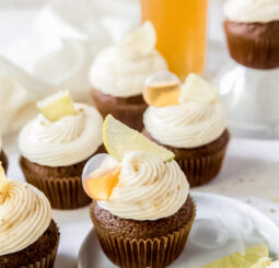 Dark and Stormy Cupcakes
