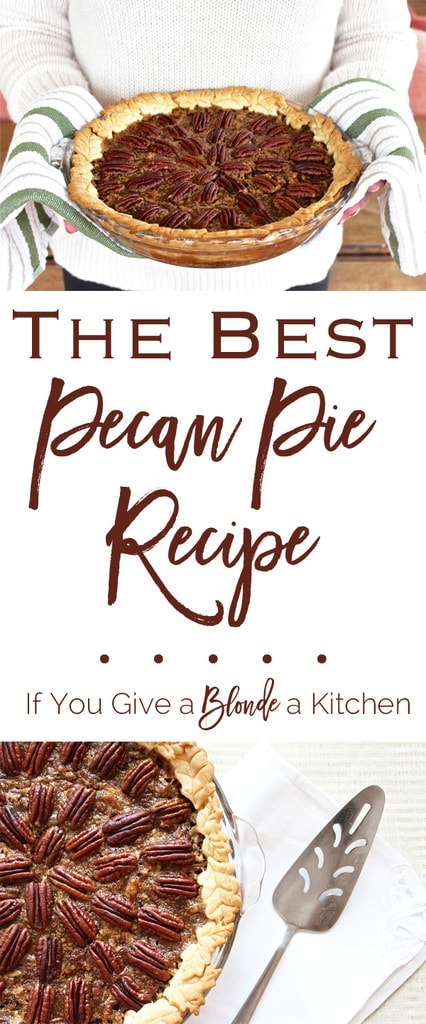 This is seriously the best pecan pie recipe I've ever used! The pecan pie is sinfully delicious with its thick, gooey filling with loads of crunchy pecans.