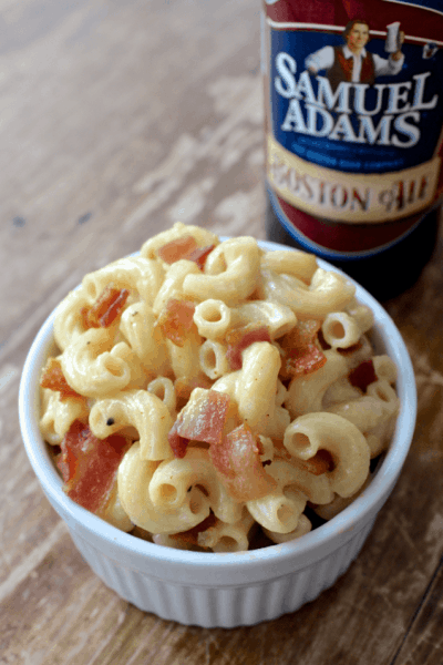 Beer and Bacon Mac n Cheese