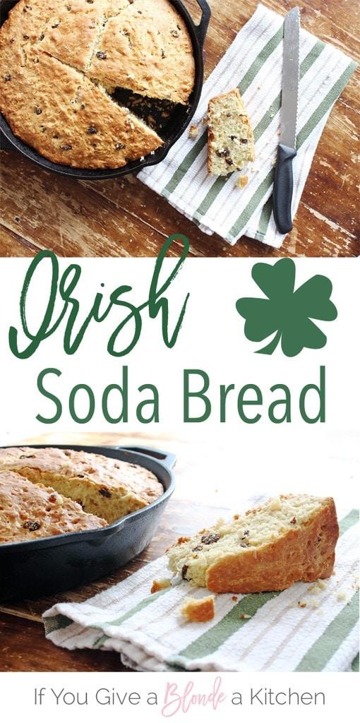 Irish Soda Bread | Recipe by @haleydwilliams