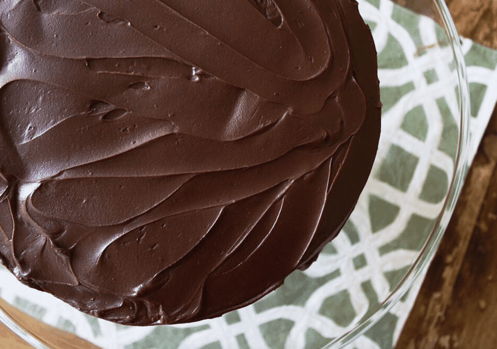Decadent Chocolate Cake | Recipe by @haleydwilliams