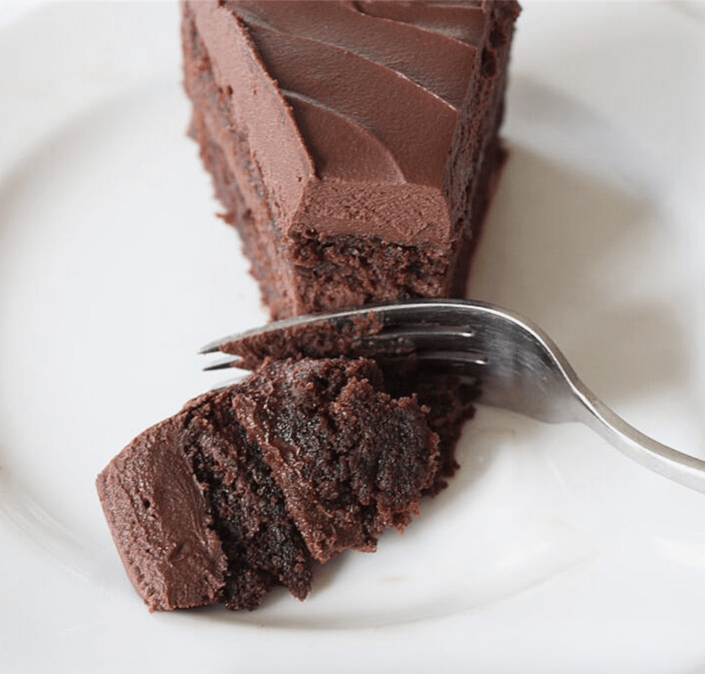 Decadent Chocolate Cake | Recipe by @haleydwilliams