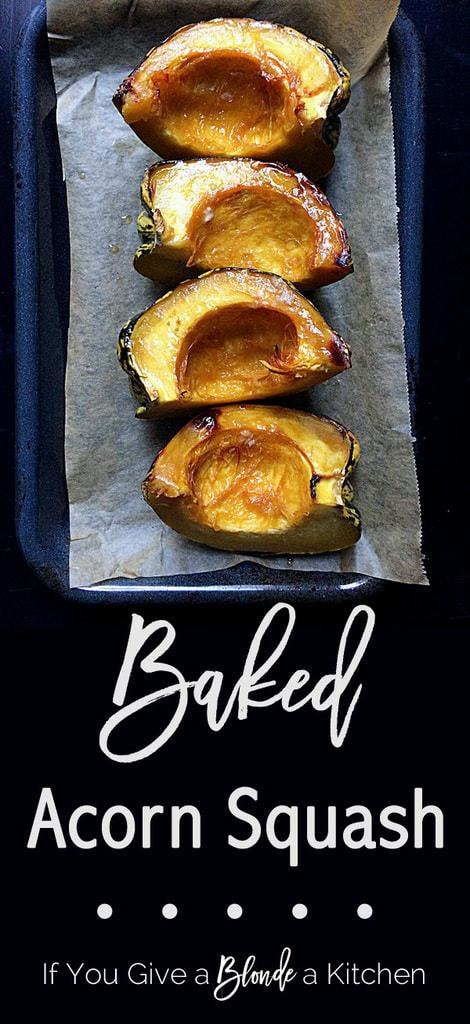 This is great! Step-by-step photos on how to make baked acorn squash PLUS five different ways to season the fall dish. | Recipe by @haleydwilliams