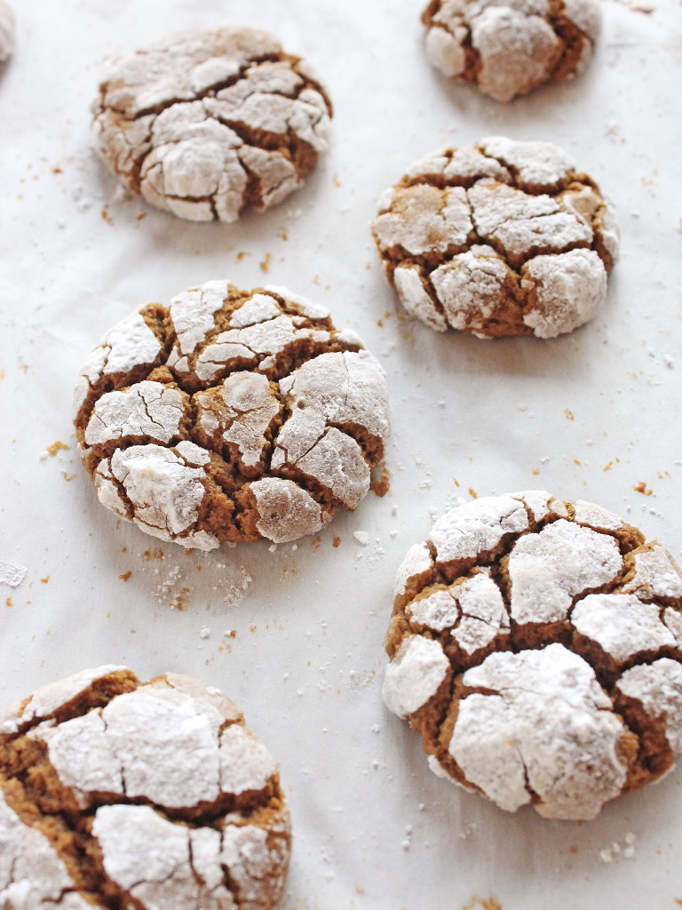 GIngerbread Cookies Crinkle Recipe If You Give a Blonde a Kitchen