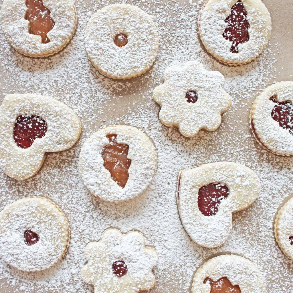 Holiday Linzer Cookies If You Give A Blonde A Kitchen