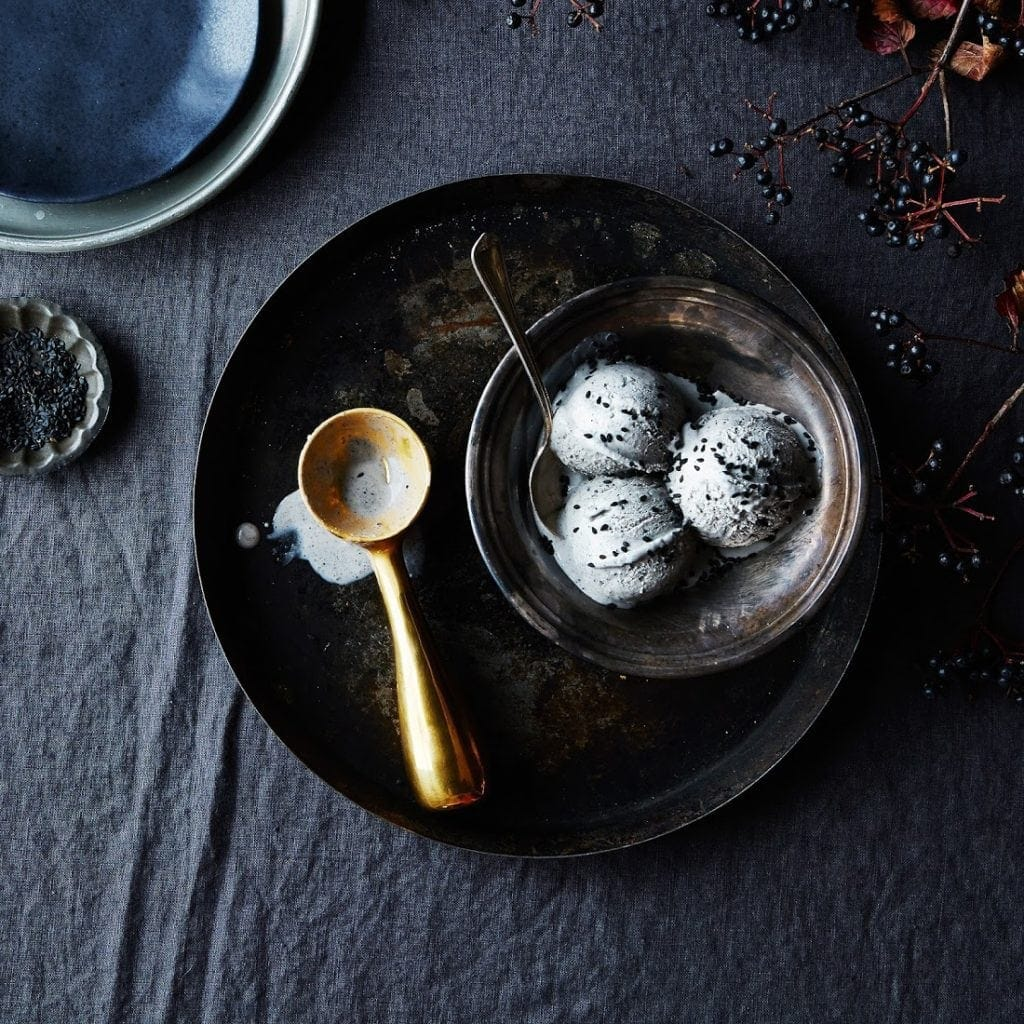 Seven kitchen gifts from Food52 including this solid brass ice cream scoop | @haleydwilliams