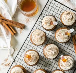 Buttered Rum Cupcakes