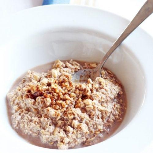 maple brown sugar overnight oats recipe