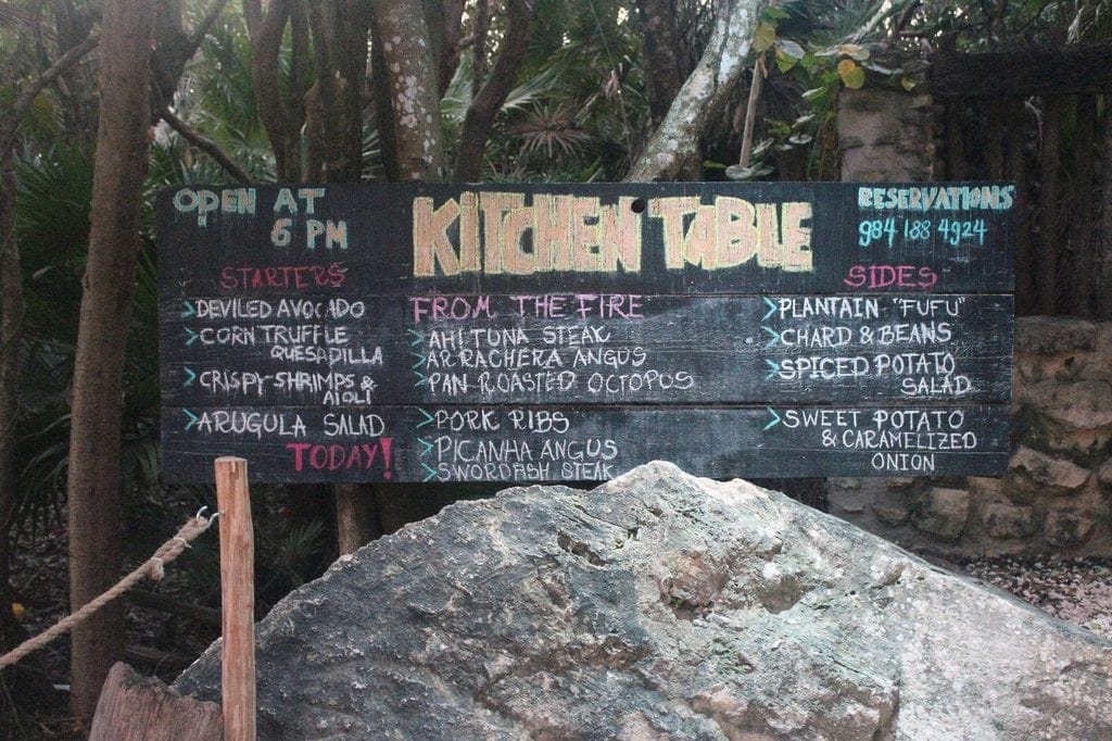 Foodies Travel Guide Tulum Mexico If You Give A Blonde A Kitchen - Kitchen table tulum