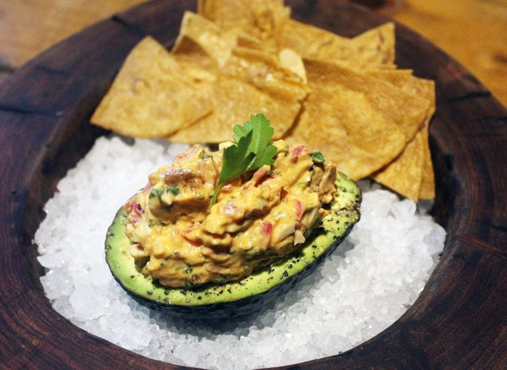 Mexican Deviled Avocado - Kitchen table tulum