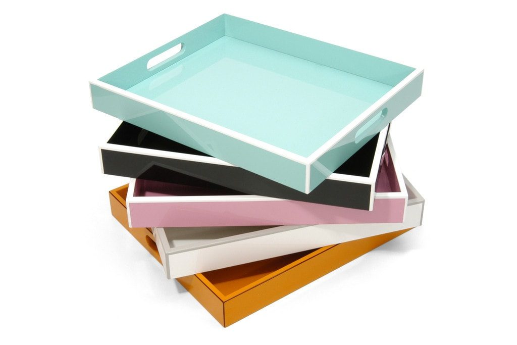 Swing Elle Lacquer Tray are great gifts for mom | @haleydwilliams