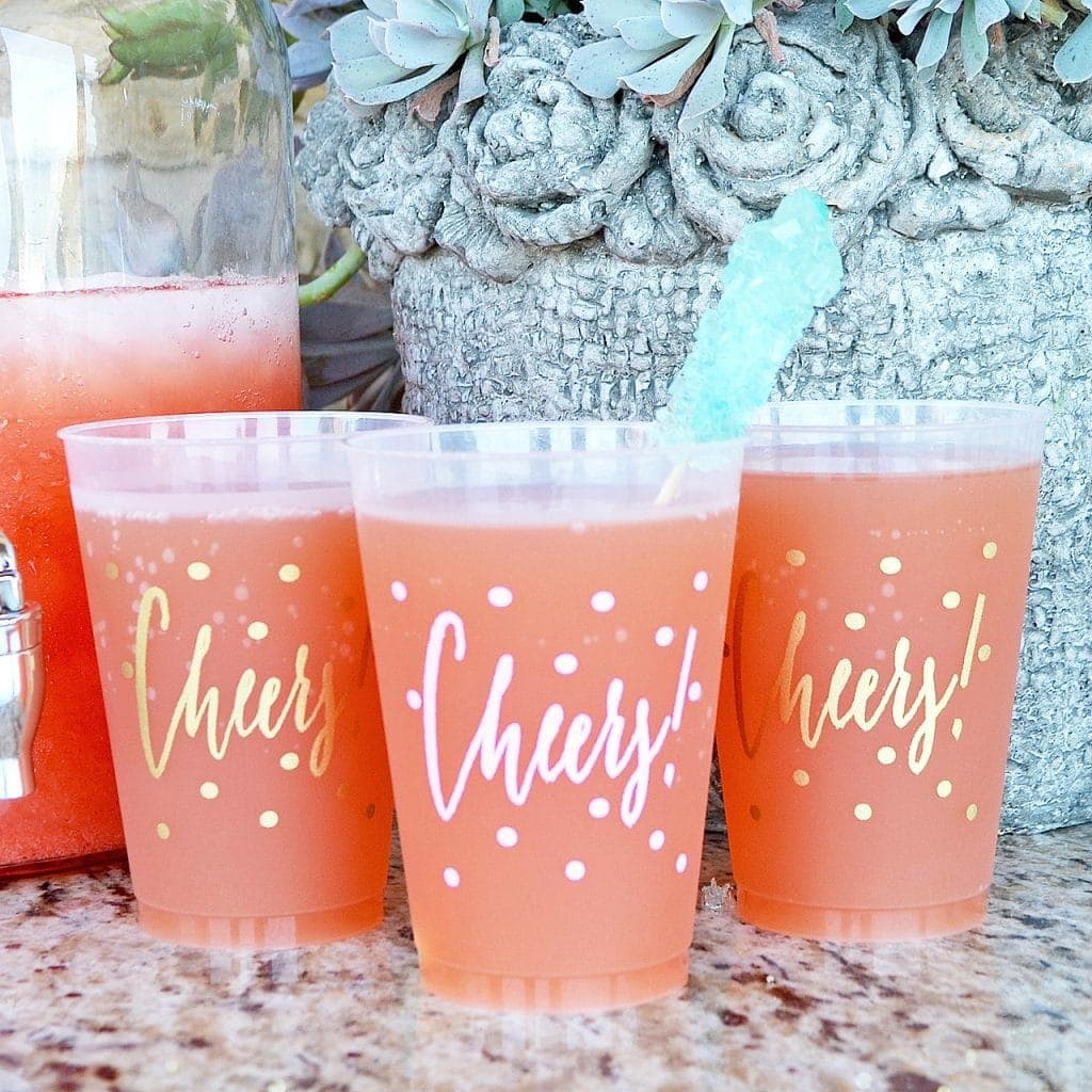 cheers frost flex shatterproof darty cup