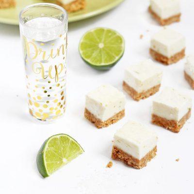 No Bake Margarita Cheesecake Bites
