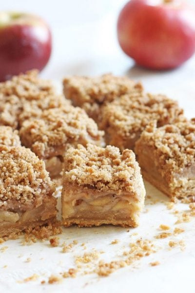 Easy Apple Crisp Bars