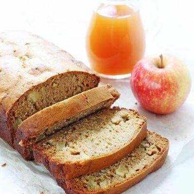Loaded Apple Cider Bread