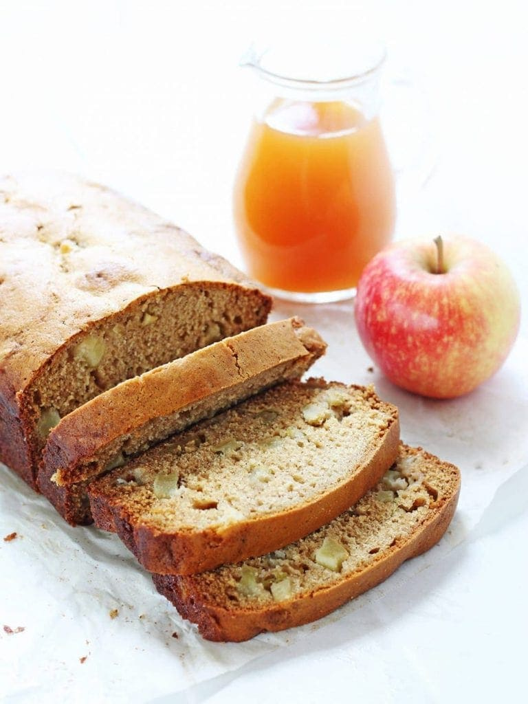 Loaded Apple Cider Bread