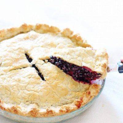 Maine Blueberry Pie