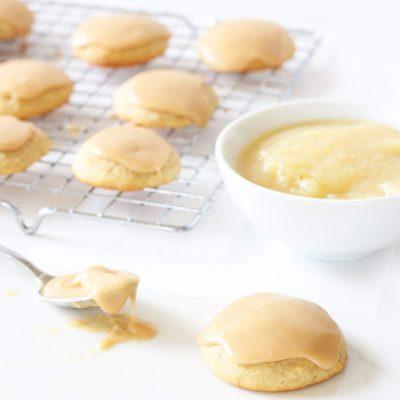 Caramel Applesauce Cookies