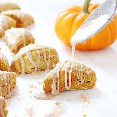 Two-Bite Mini Pumpkin Scones