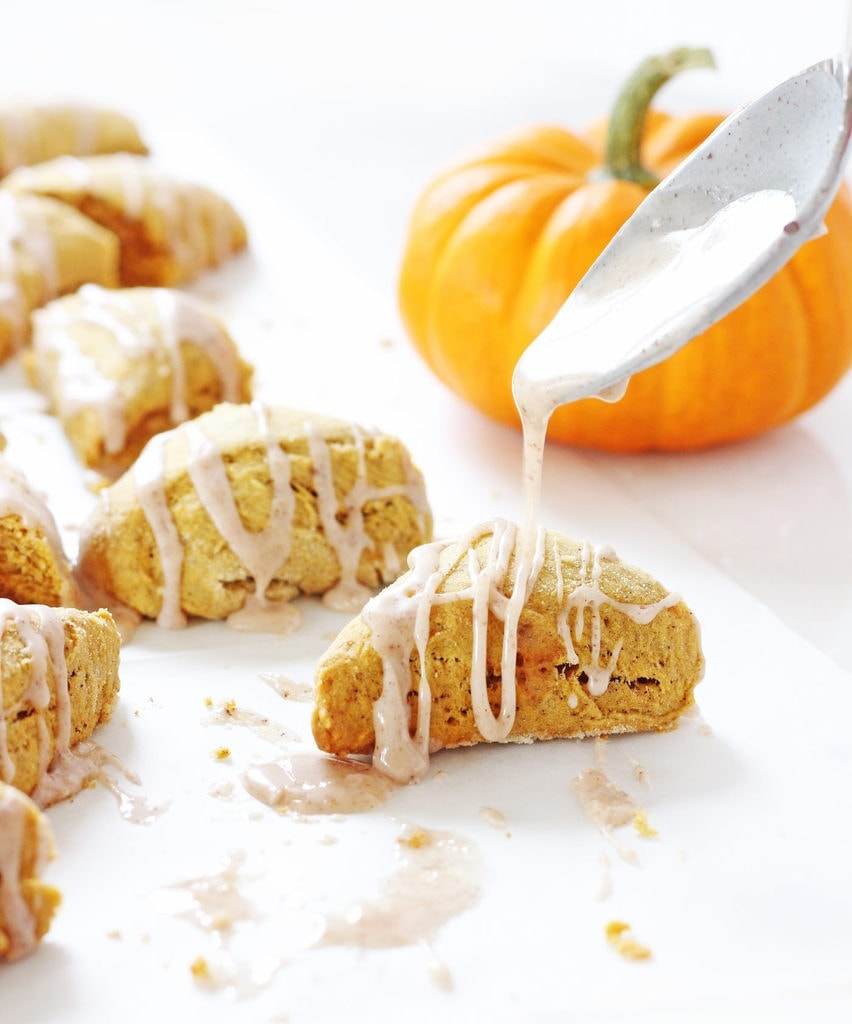 Two-Bite Mini Pumpkin Scones