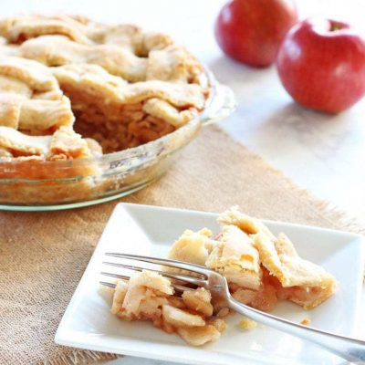 Mom's Homemade Apple Pie Recipe