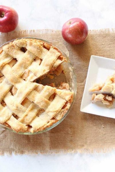 Mom's Homemade Apple Pie Recipe
