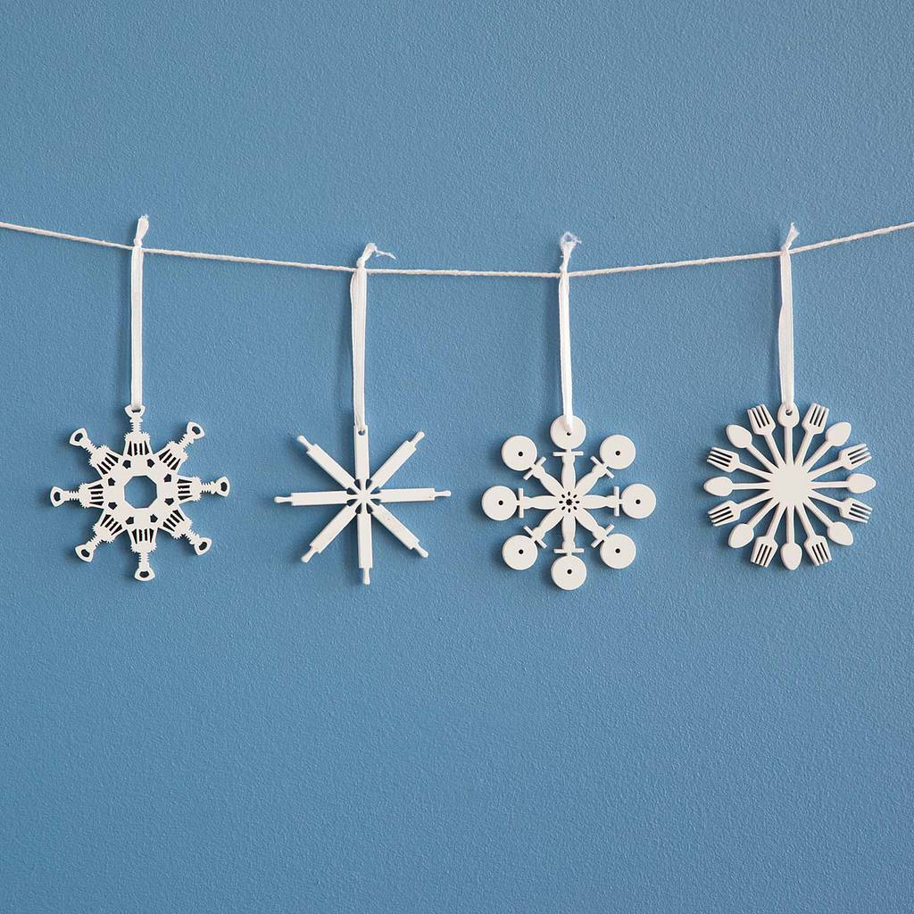 uncommon-goods-kitchen-tool-flake-ornaments-set-of-4