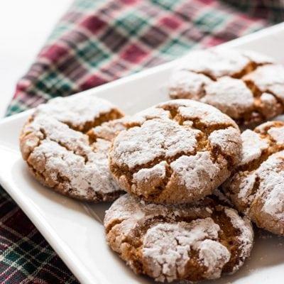 Peanut Butter Crinkle Cookies   www.ifyougiveablondeakitchen.com