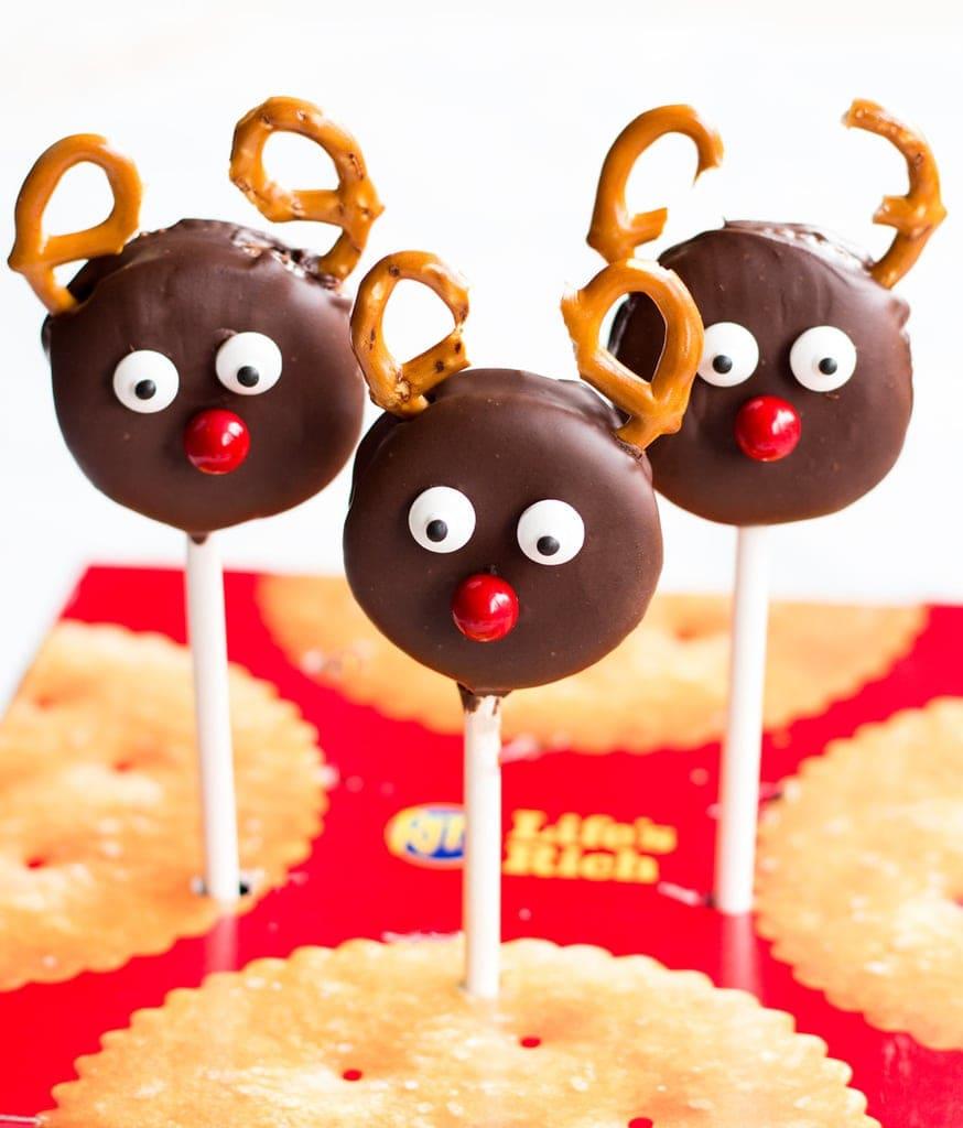 Peanut Butter Sandwich Reindeer Pops | www.ifyougiveablondeakitchen.com