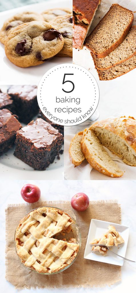 five easy baking recipes to master in 2017 if you give a blonde a kitchen. Black Bedroom Furniture Sets. Home Design Ideas