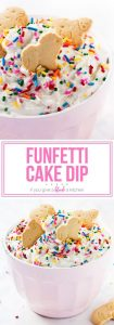 Fantastic Funfetti Cake Dip If You Give A Blonde A Kitchen Personalised Birthday Cards Bromeletsinfo