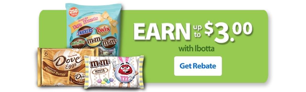 Mars Easter at Walmart Ibotta Widget Jelly Bean Cupcakes
