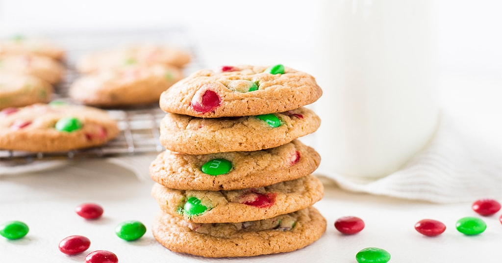 Christmas M M Cookies If You Give A Blonde A Kitchen