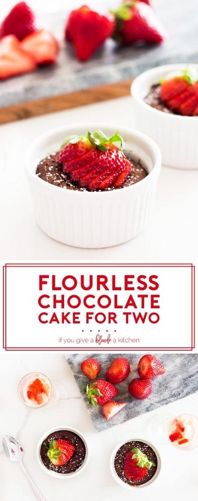 mini flourless chocolate cake pinterest long
