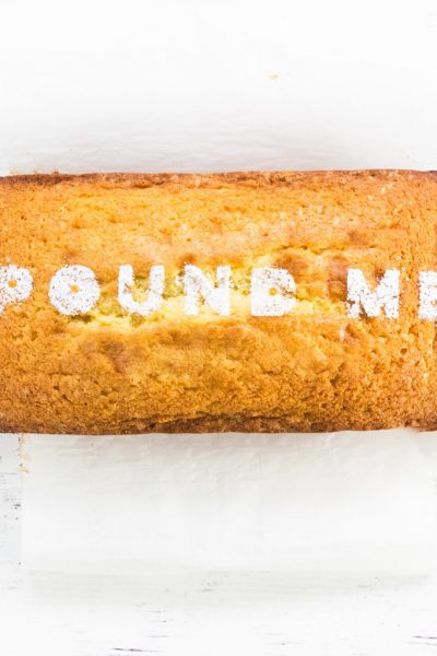 Best pound cake recipe pound me confectioners' sugar