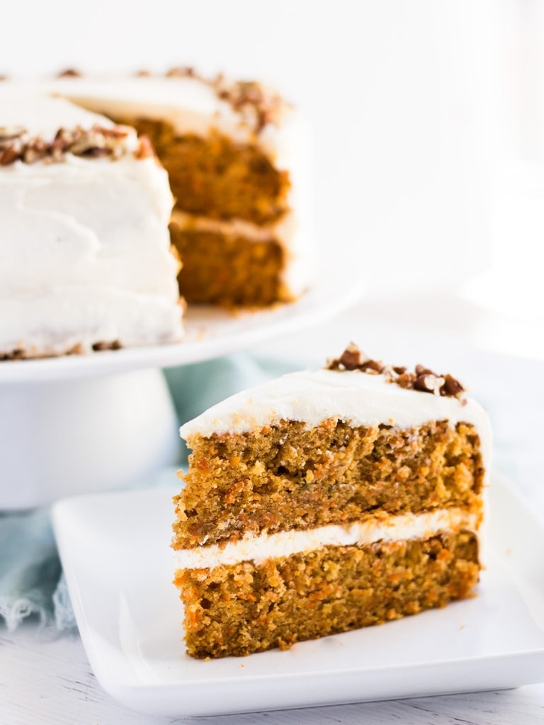 How Do You Make Carrot Cake Moist