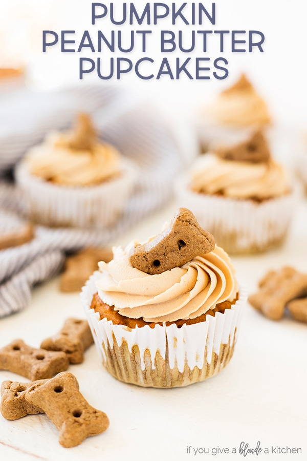 Pumpkin Peanut Butter Pupcakes If You Give A Blonde A Kitchen