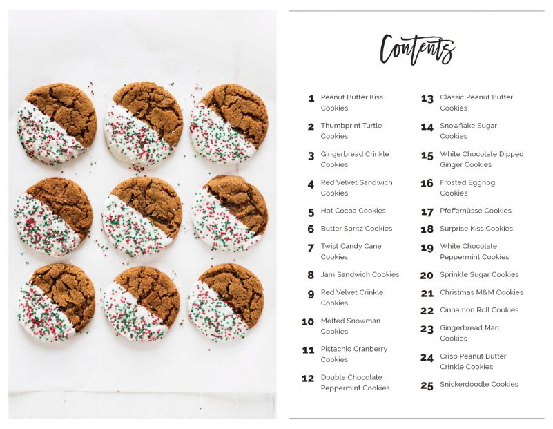 25 Days Of Christmas Cookies If You Give A Blonde A Kitchen