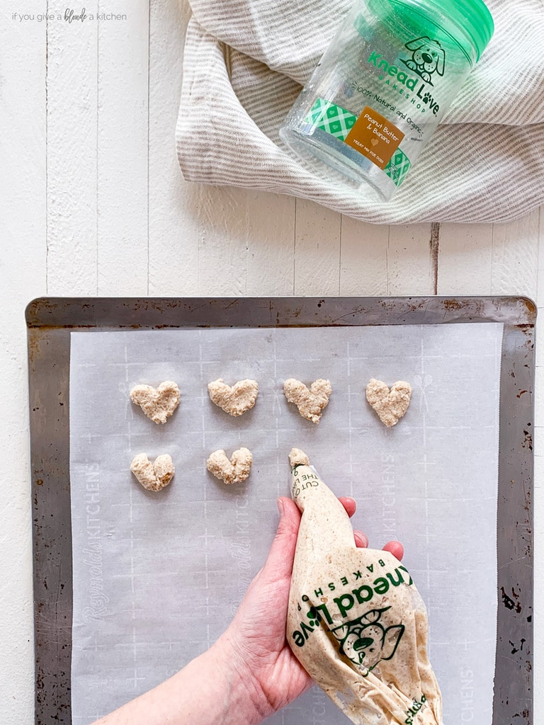 dog biscuit baking mix knead love bakeshop recipe