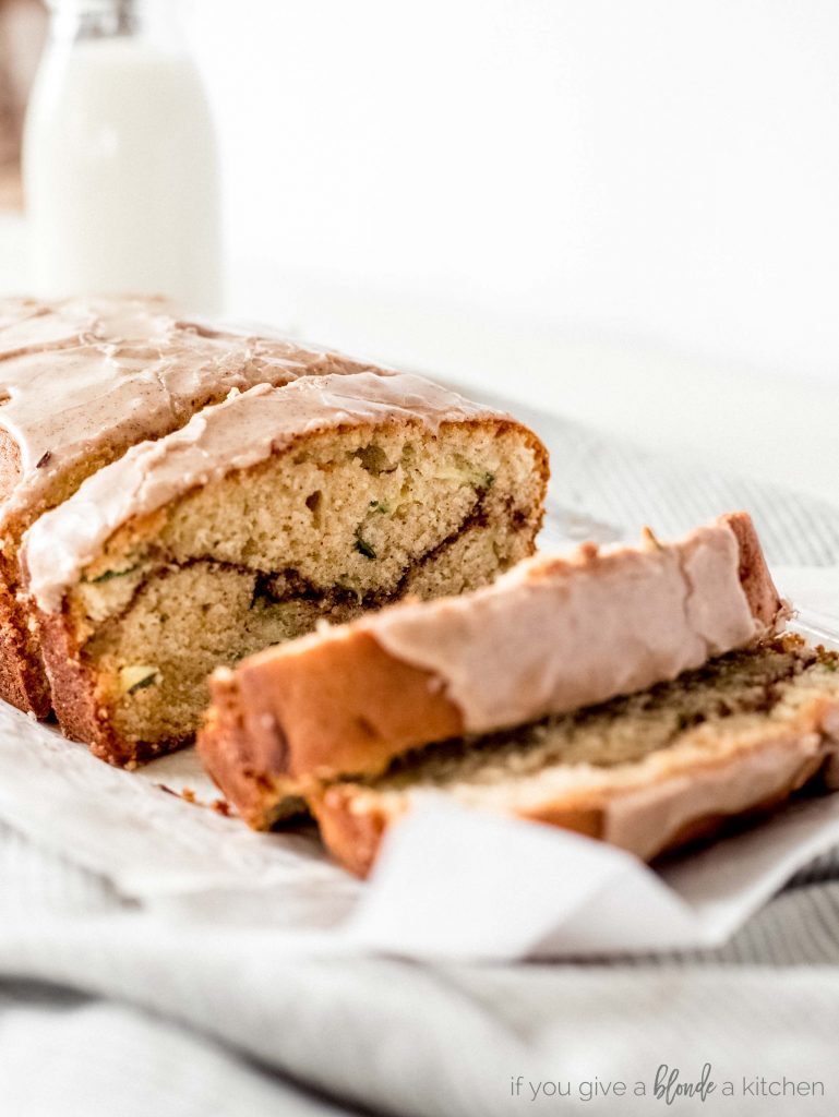Cinnamon Swirl Zucchini Cake If You Give A Blonde A Kitchen