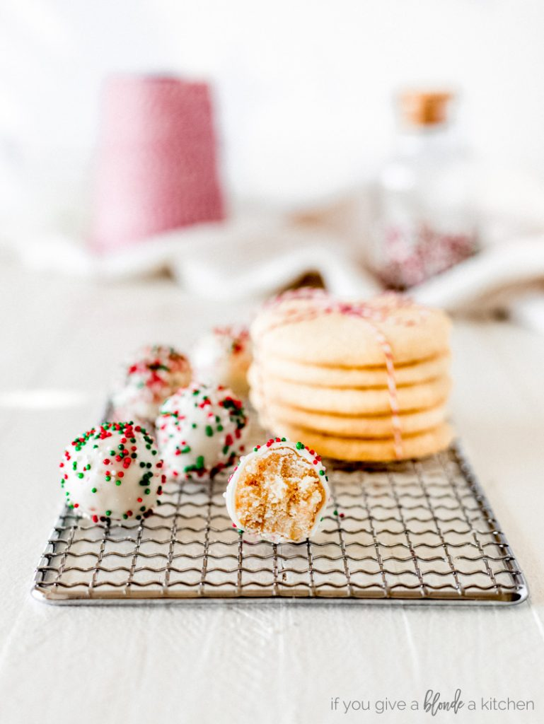 Christmas Cookie Recipes 2019.Christmas Sugar Cookie Truffles