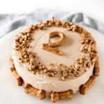 pumpkin dog cake peanut butter 2