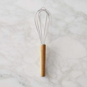 wooden handle balloon whisk